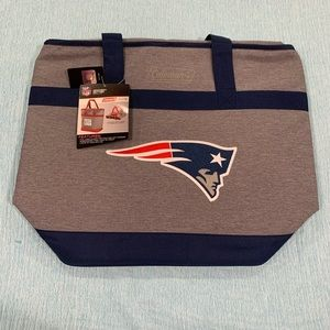 NE Patriots Coleman Grocery Getter insulated tote